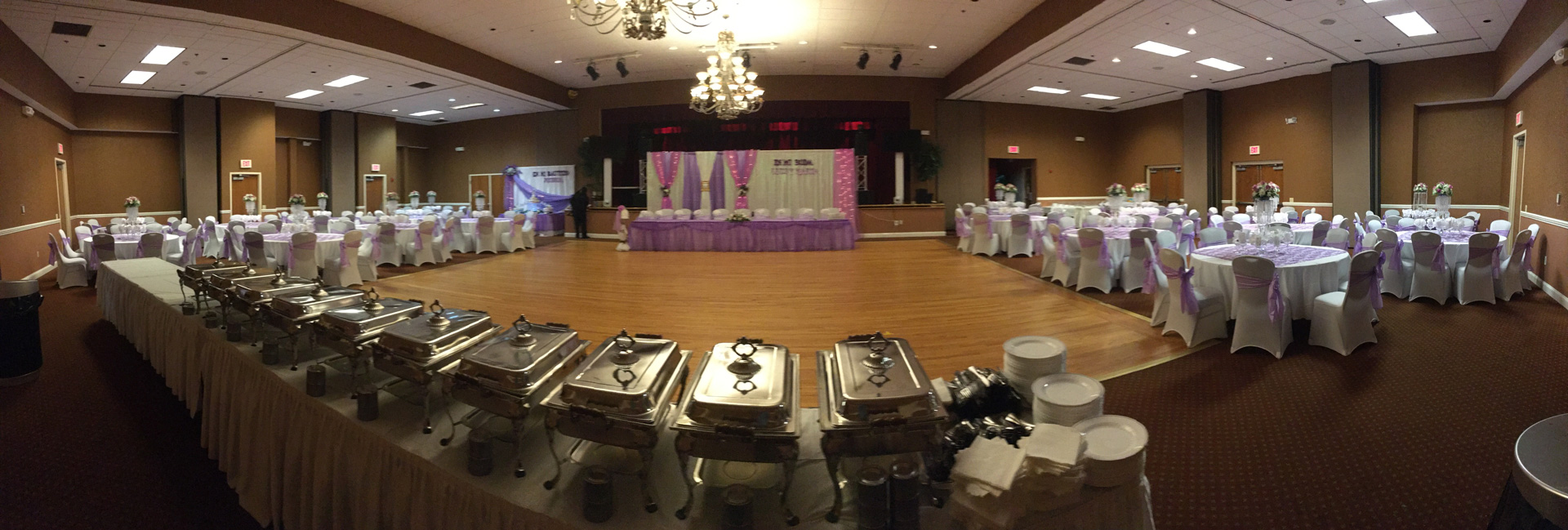 Ukrainian American Cultural Center - Main Ballroom panoramic center