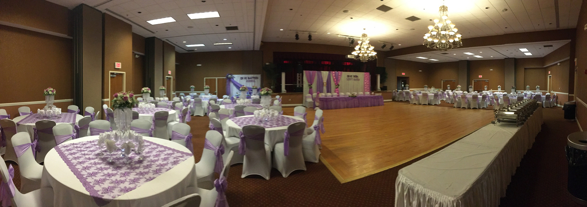 Ukrainian American Cultural Center - Main Ballroom panoramic