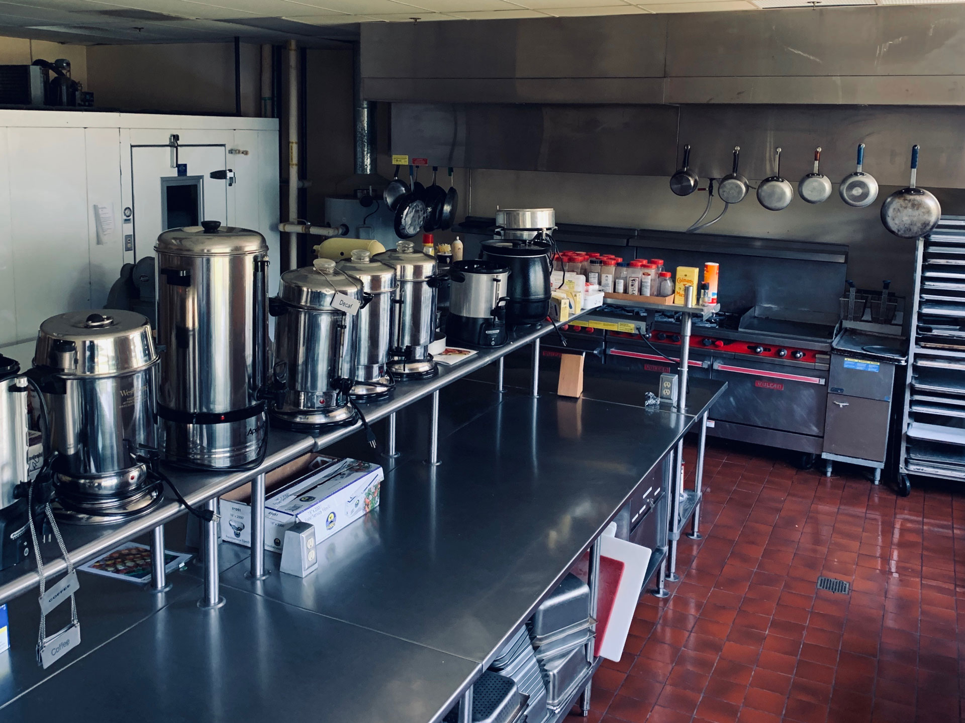 Ukrainian American Cultural Center - kitchen
