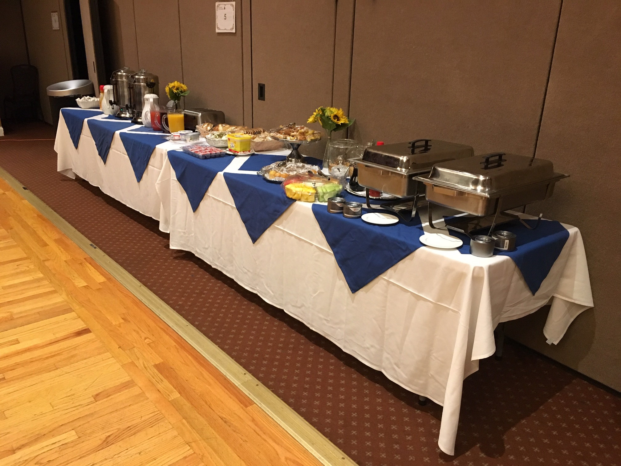 Ukrainian American Cultural Center - Catering and Kitchen main hall