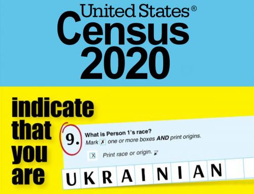 Census2020 – Ukrainian Your response matters