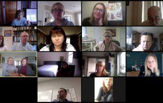 remote School of Ukrainian Studies - teachers April 2020