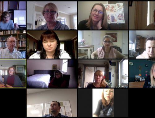 School of Ukrainian Studies – online teachers – April 18, 2020
