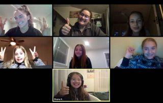 april 2020 remote PLAST meeting