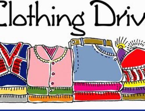UACCNJ Clothing Drive