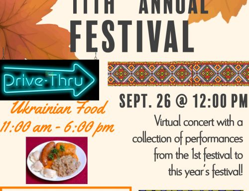 11th Annual Ukrainian Festival