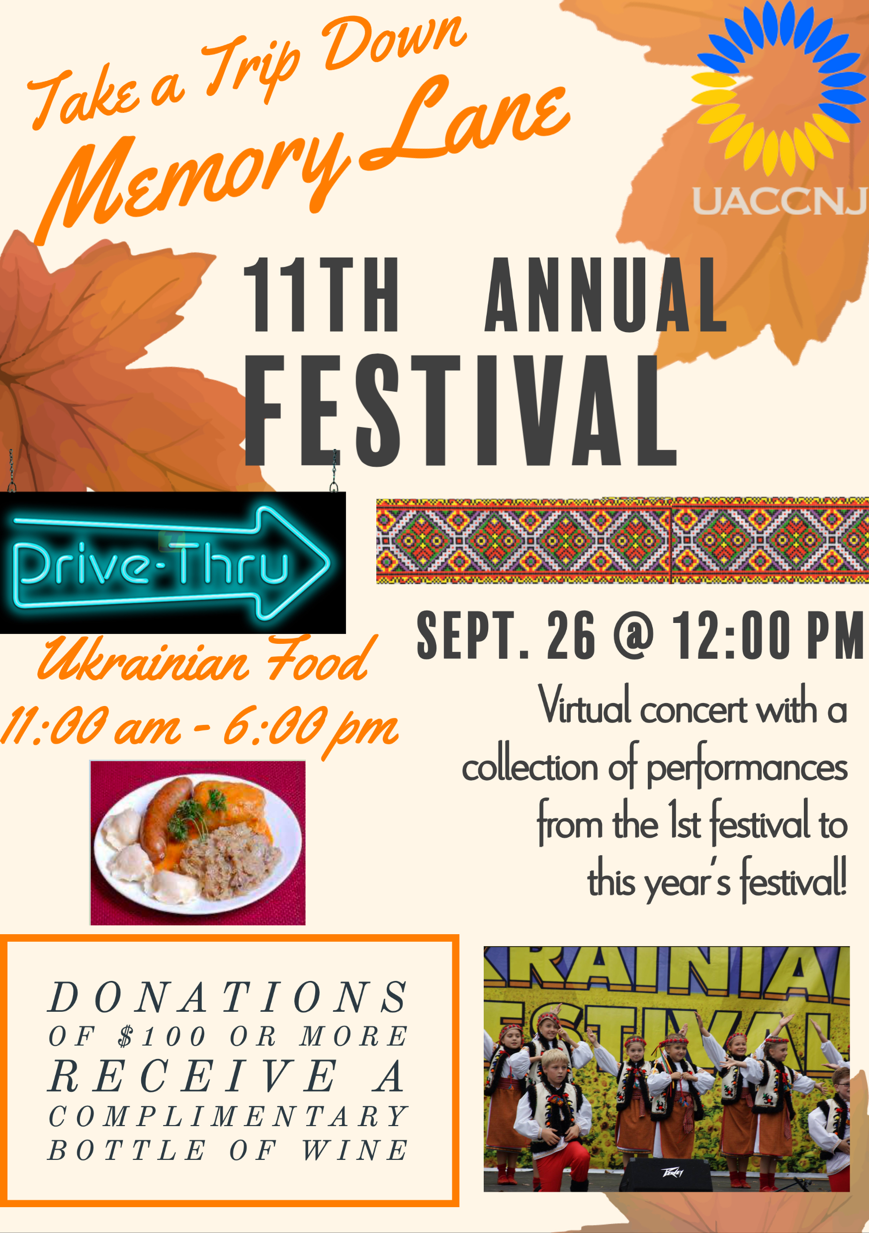 Sep 26 2020 - 11th Annual Ukrainian Festival (cover)