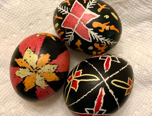 Traditional Ukrainian Easter Eggs: Pysanky Decoration