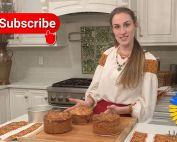 Baking of Easter Paska - Ukrainian Traditional Easter Bread